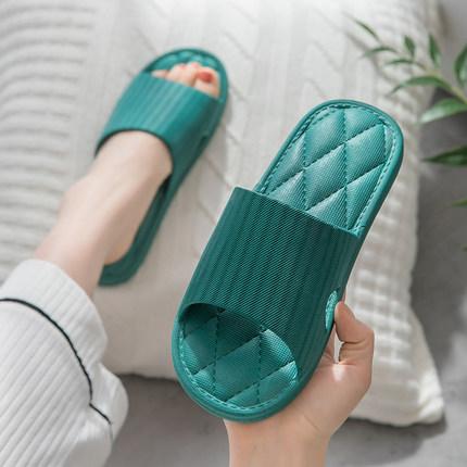 拖鞋女家用夏季室内防滑家居家软底洗澡拖情侣浴室凉拖鞋男士夏天