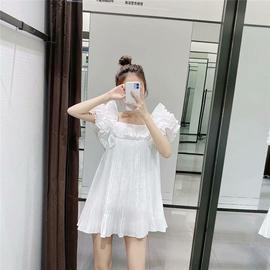 2020春夏新款 ZA家女装 叠层装饰小打褶连衣裙 2216/201 2216201