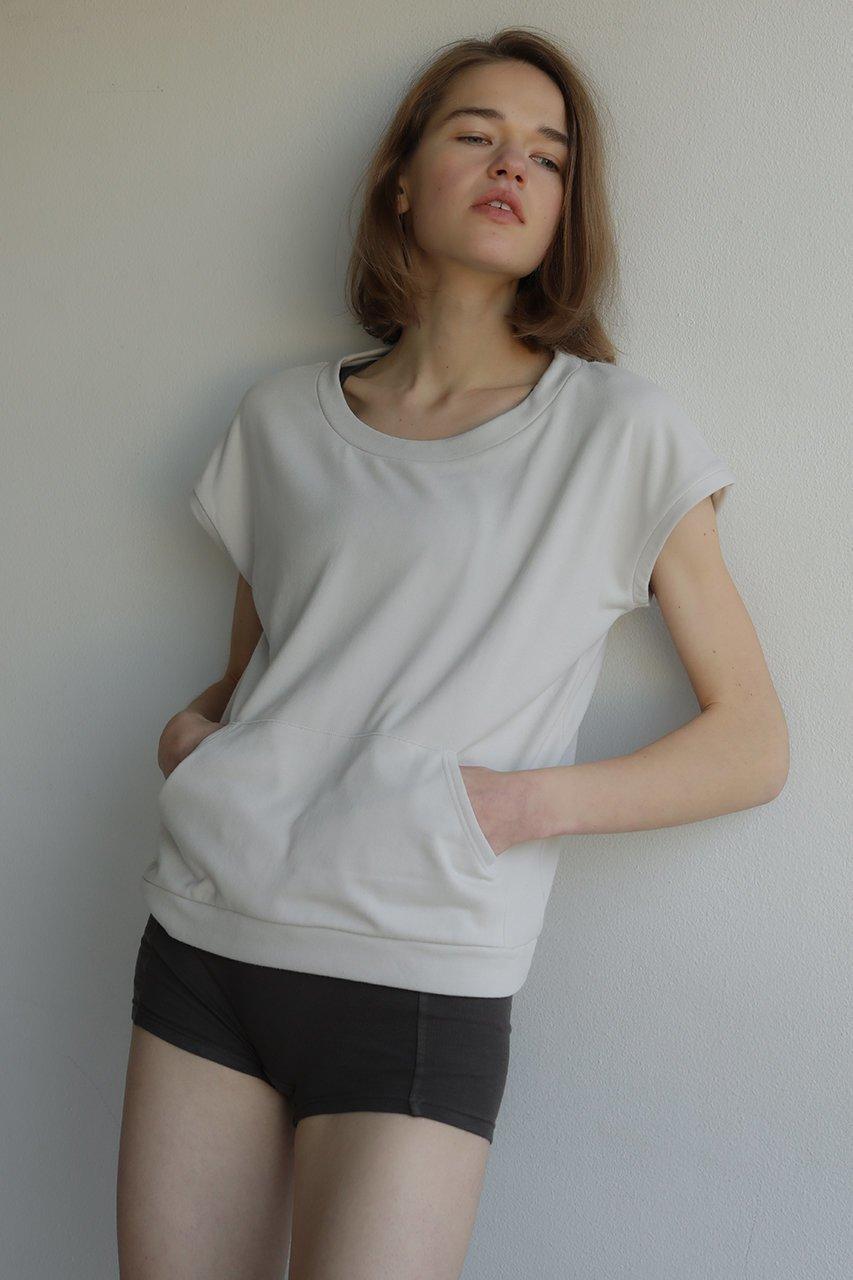 包税包邮日本代购Sacre定番上质素材清爽舒适宽松圆领短袖t恤女款