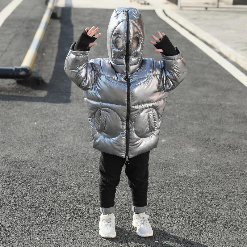 童装男童冬装棉衣2019新款儿童洋气抖音羽绒棉服外套小童加厚潮孩