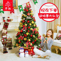 Hua Chi Christmas 1.2 meters 1.5 meters 1.8 meters 2.1 meters 2.4 meters Christmas tree package home decorations Set