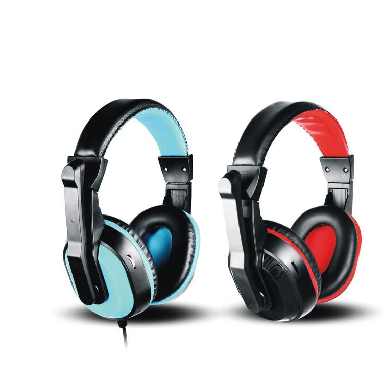 今嘜電腦耳機頭戴台式PC大耳罩游戲電競耳麥網吧帶麥克風話筒舒適