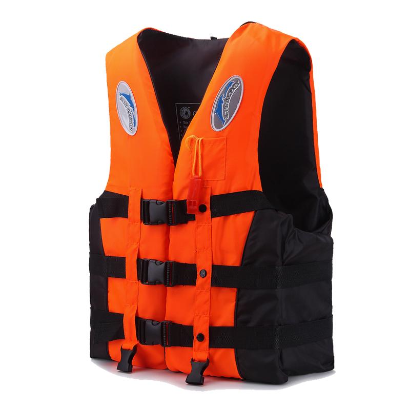 乐迪专业加厚救生衣大浮力大人船用游泳钓鱼马甲儿童便携救身背心
