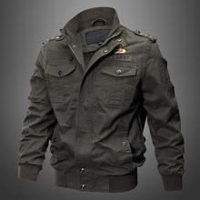 外套纯棉休闲工装 宽松耐磨 加绒夹克大码 特种兵男士 秋季 多口袋军装