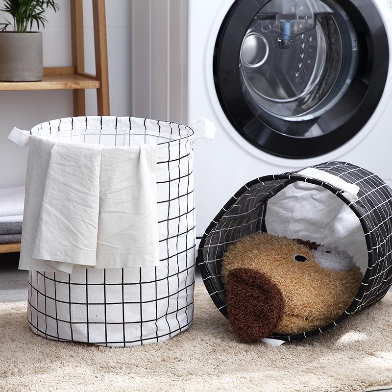 可折叠防水脏衣篮玩具收纳桶浴室装衣服脏衣篓洗衣篮脏衣服收纳筐