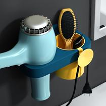 吹风机置物架墙上电吹风挂架卫生间浴室厕所收纳免打孔电风筒支架