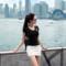 韩国时尚T恤 2019春夏装新品修身显瘦现货刺绣百搭V领短袖T恤女夏