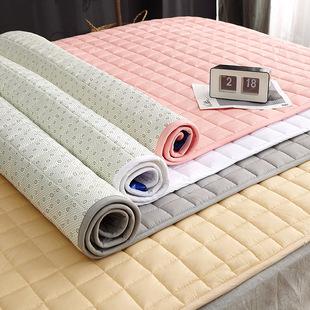 定制全棉两面用褥子铺床垫子双人家用软垫学生宿舍床褥被褥可水洗