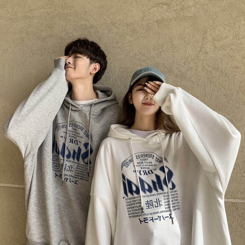 Early autumn mens sweater thin net red couple autumn loose autumn Hooded Jacket Korean fashion brand spring and Autumn