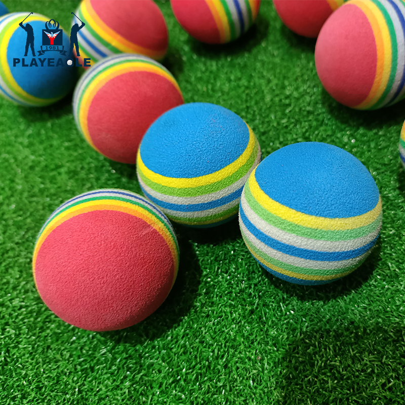 9.9 package Golf sponge ball practice ball EVA soft ball childrens playground play ball factory direct supply