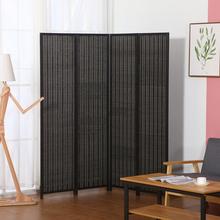 中式实木屏风卧室遮挡隔断家用客厅经济型折叠墙移动装饰简约现代