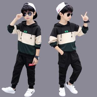 男童套装秋装2019新款春秋儿童卫衣可在爱乐优品网领取10元天猫优惠券
