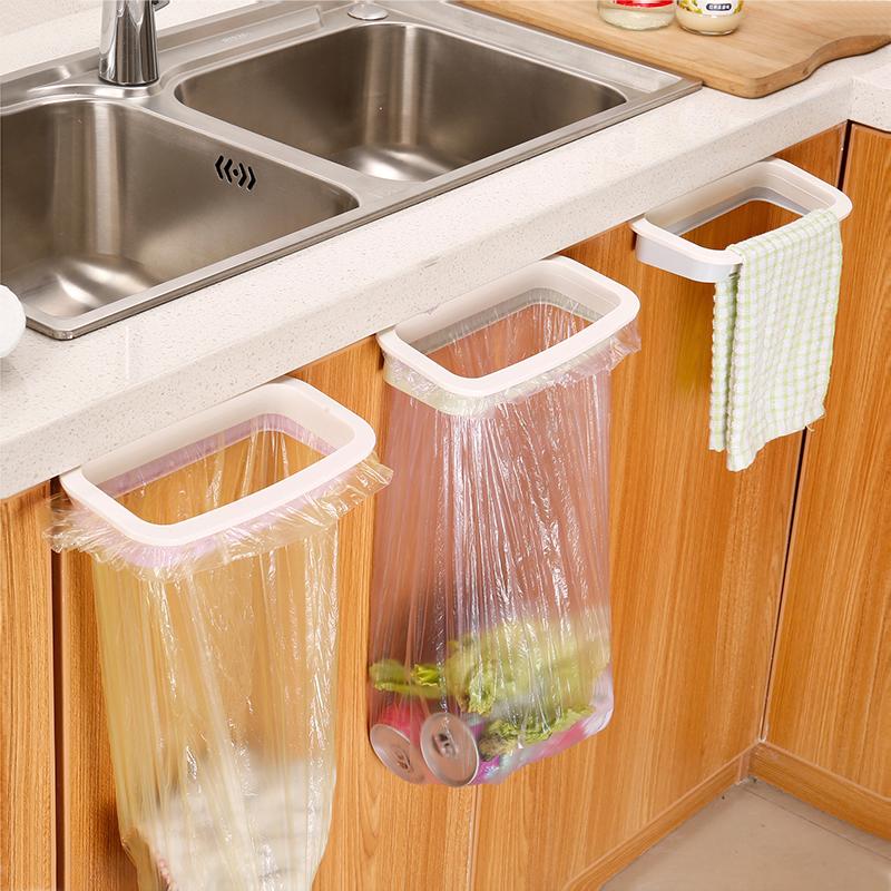 Кухонные шкафы дверь Пластиковая сумка для мусора дверь Задний кронштейн мусора