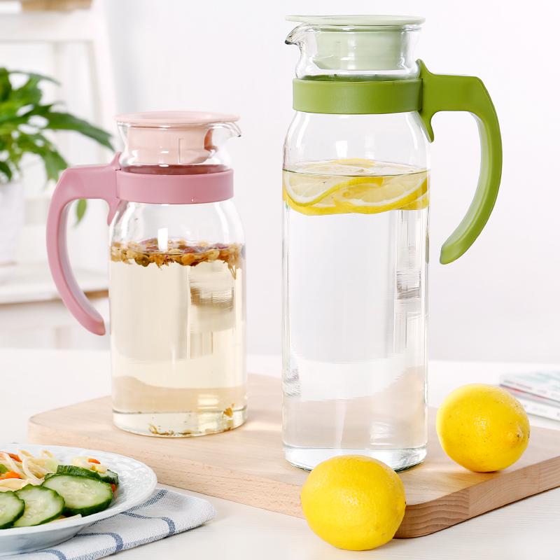 Большой потенциал холодная вода прохладно чайник пузырь чайник прозрачное стекло фруктовый сок напитки горшок домой высокотемпературные взрывозащищенный кипяток
