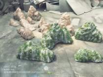 泡沫石头假山仿真道具假山假石头橱窗婚庆泡沫假山假石头表演石头