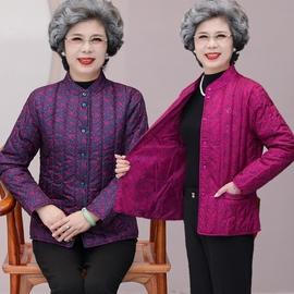 妈妈秋冬内胆中老年人外套女贴身棉衣羽绒棉服奶奶大码轻便小棉袄图片