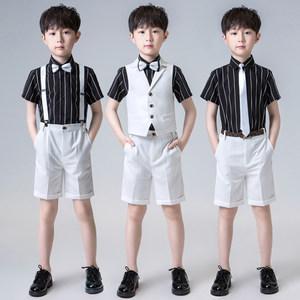 儿童小西装花童礼服男钢琴演出服