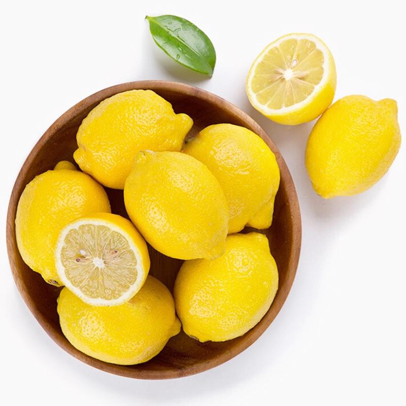 安岳柠檬当季现摘新鲜二级黄柠檬大果薄皮泡水柠檬水果10斤装包邮
