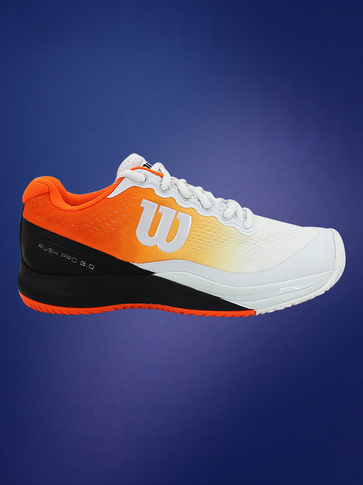 Wilson Wilson mens and womens tennis shoes professional tennis shoes comfortable wear resistant breathable rush Pro lovers