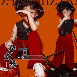 潮牌男孩杂志风大童个性写真艺术照儿童摄影主题服装形象照封面酷