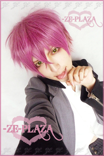 『ZE』DIABOLIK LOVERS ドS  逆巻アヤトAYATO 渐变COS假发