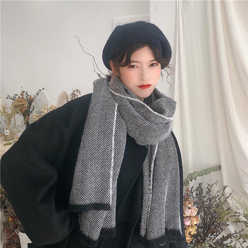 Мужские теплые шарфы Артикул 581355429658