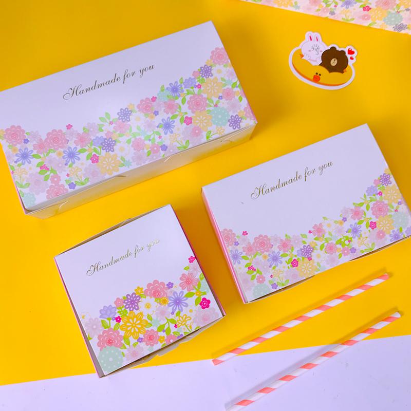 高档中秋节广式冰皮月饼包装盒秘密花园50克六个装礼盒手提袋批