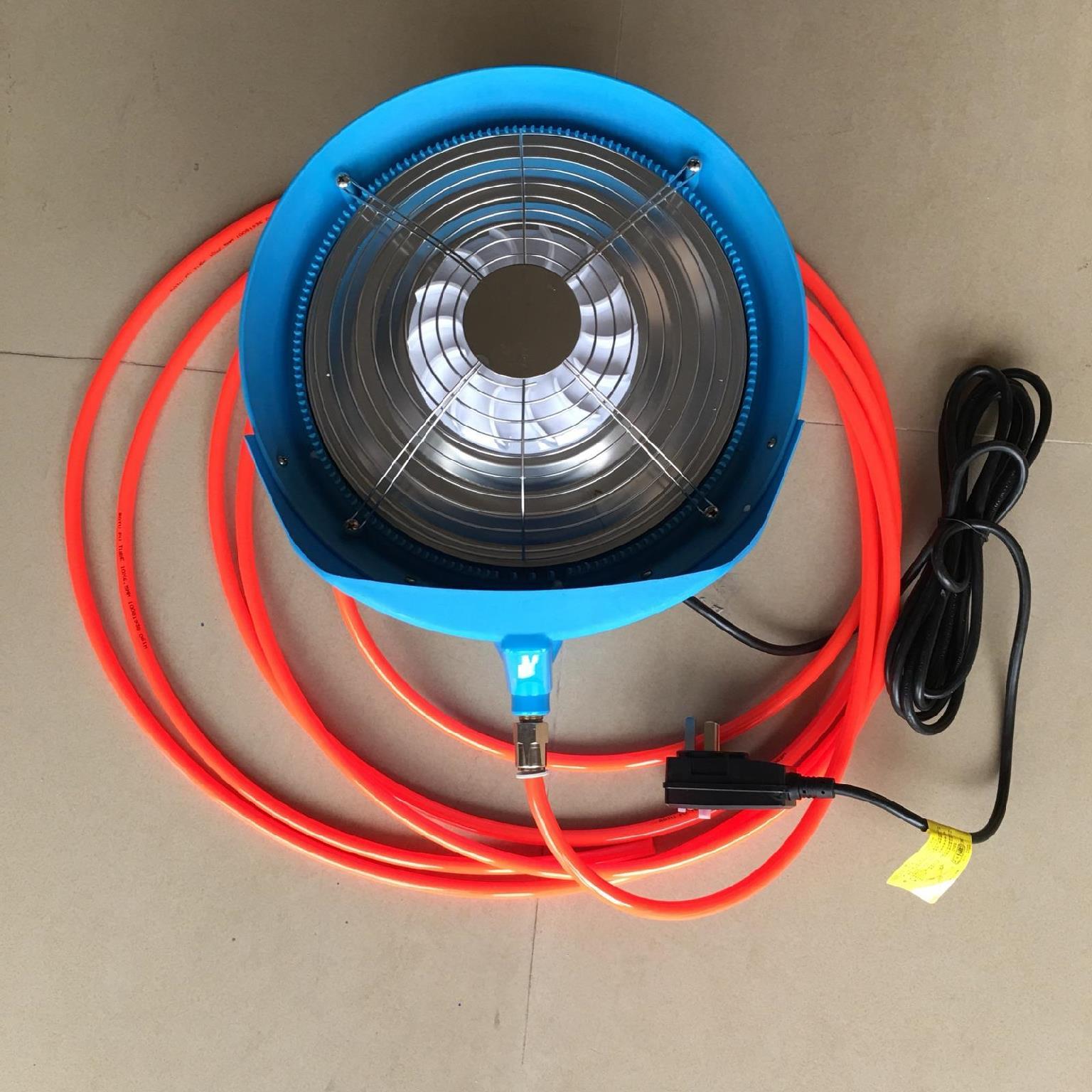 花房圆盘式猪圈弥雾机降温电动养殖场消毒喷雾机离心式小型加湿