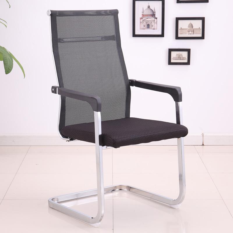 弓の形の事務椅子の家庭用は従業員のコンピュータの椅子の会議ネットをして空気を通す椅子を配置します。
