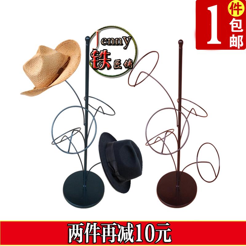 Железное искусство шапка Полка для хранения на полке в европейском шельфе детские Крепление крышки крышки шапка