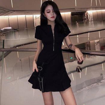 2019新款气质慵懒风显瘦收腰连衣裙