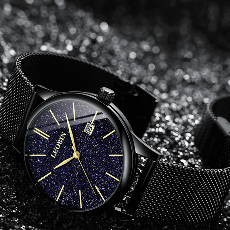 Robin starry sky mens watch 2019 new trend fashion watch mens simple new concept non mechanical quartz watch