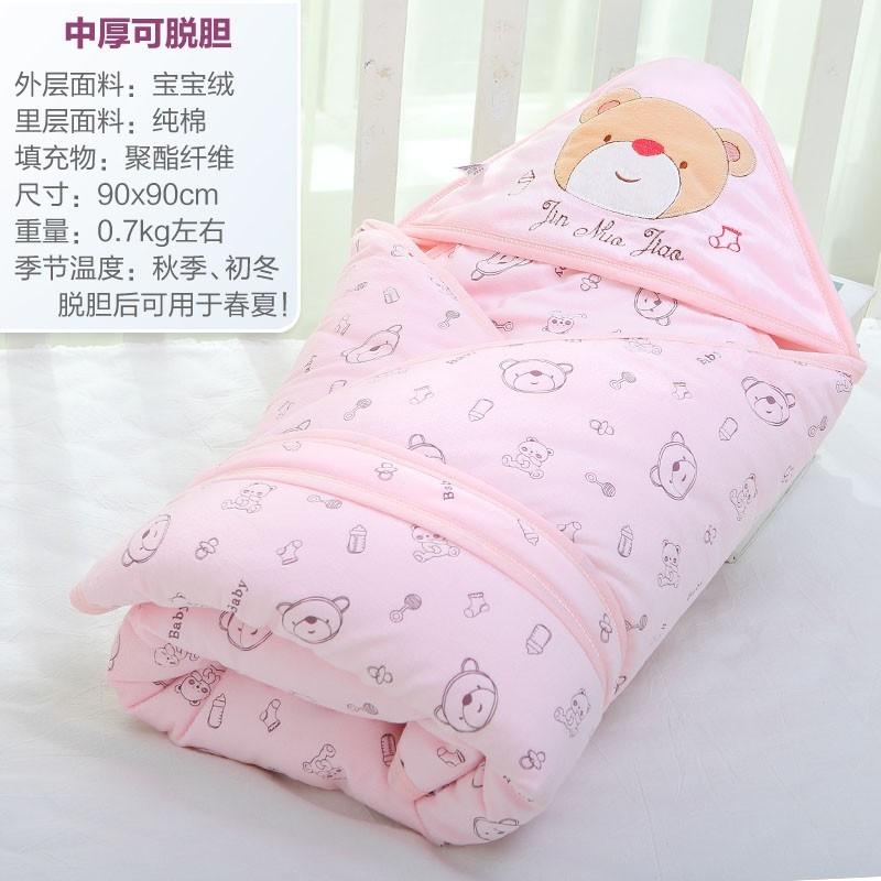 刚出生婴儿用品大全 待产新生儿包被 纯棉婴儿抱被春,可领取2元天猫优惠券