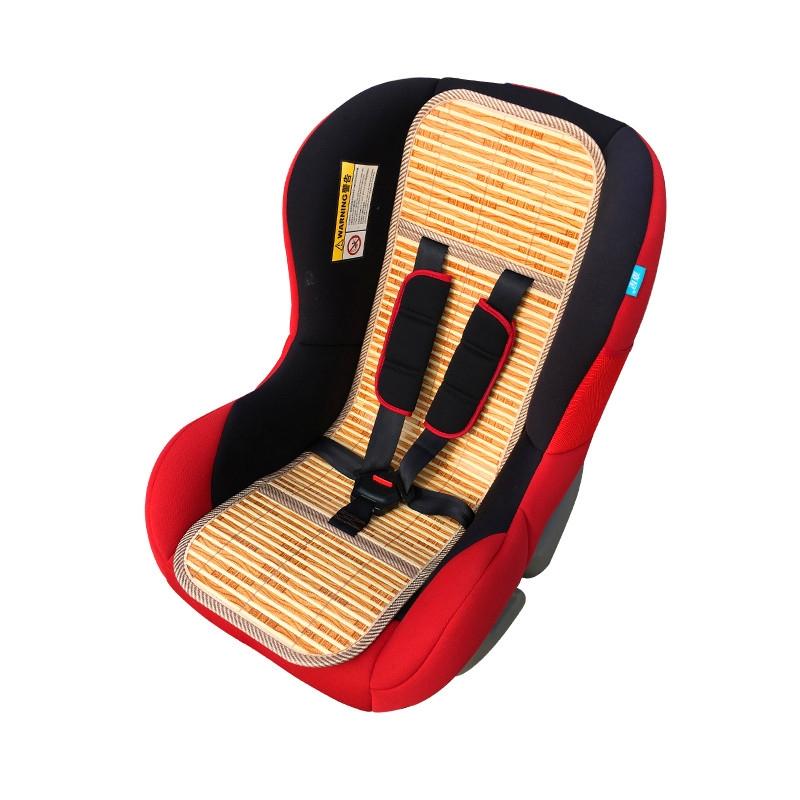 通用儿童汽车安全座椅凉席坐垫 婴儿座椅竹凉席宝宝餐椅藤席垫子,可领取2元天猫优惠券