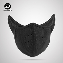 Cold-proof Mask Men's Winter Warm and Wind-proof Skiing Mask Riding Sports Motorcycle Riding Equipment