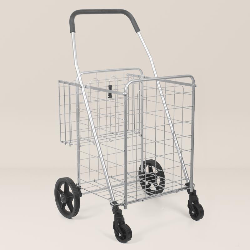 巧立方 万向轮 可折叠 小推车 手拉 买菜 购物 地摊 超市老人省力