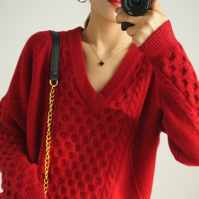 100% womens cashmere sweater