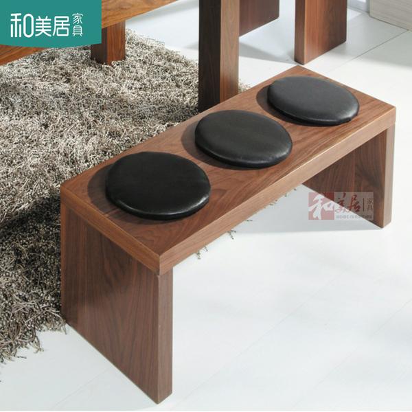 餐桌凳子 长条凳 床尾凳 换鞋凳 多用 实用椅凳 长几 可定做