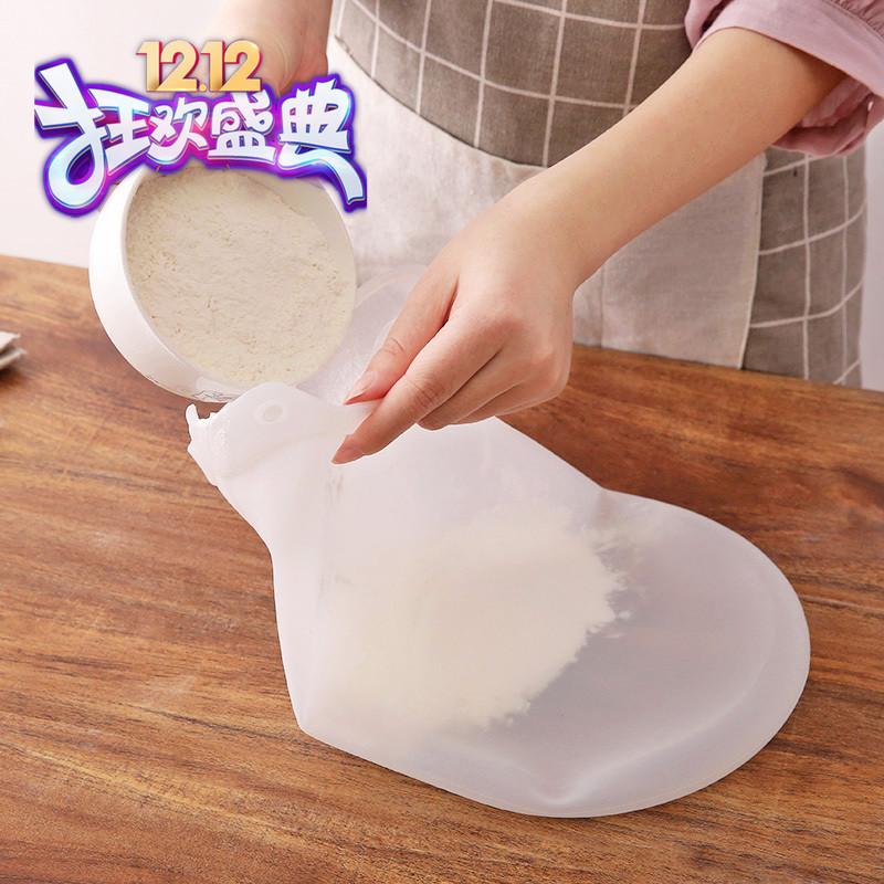 家用硅胶揉面袋不粘神奇和面袋烘培醒面袋发面袋食品保鲜加工神器