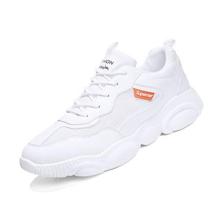 夏季小熊男鞋子老爹小白鞋韩版鞋底