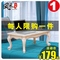 European Fashion living room floating window table simple bedroom Kang Several Japanese-style tatami small coffee table windowsill low Table tea table