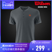(Spring and Summer section) Wilson Weir professional tennis clothing top mens T-shirt sports short sleeves