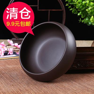 紫砂茶洗功夫茶具茶杯洗水洗茶碗水盂大小笔洗茶渣烟灰缸花盆盆栽