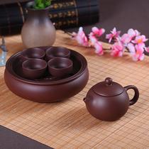 紫砂潮汕捆夫茶具小号整套茶盘茶壶茶杯泡茶套装简约家用陶瓷茶具