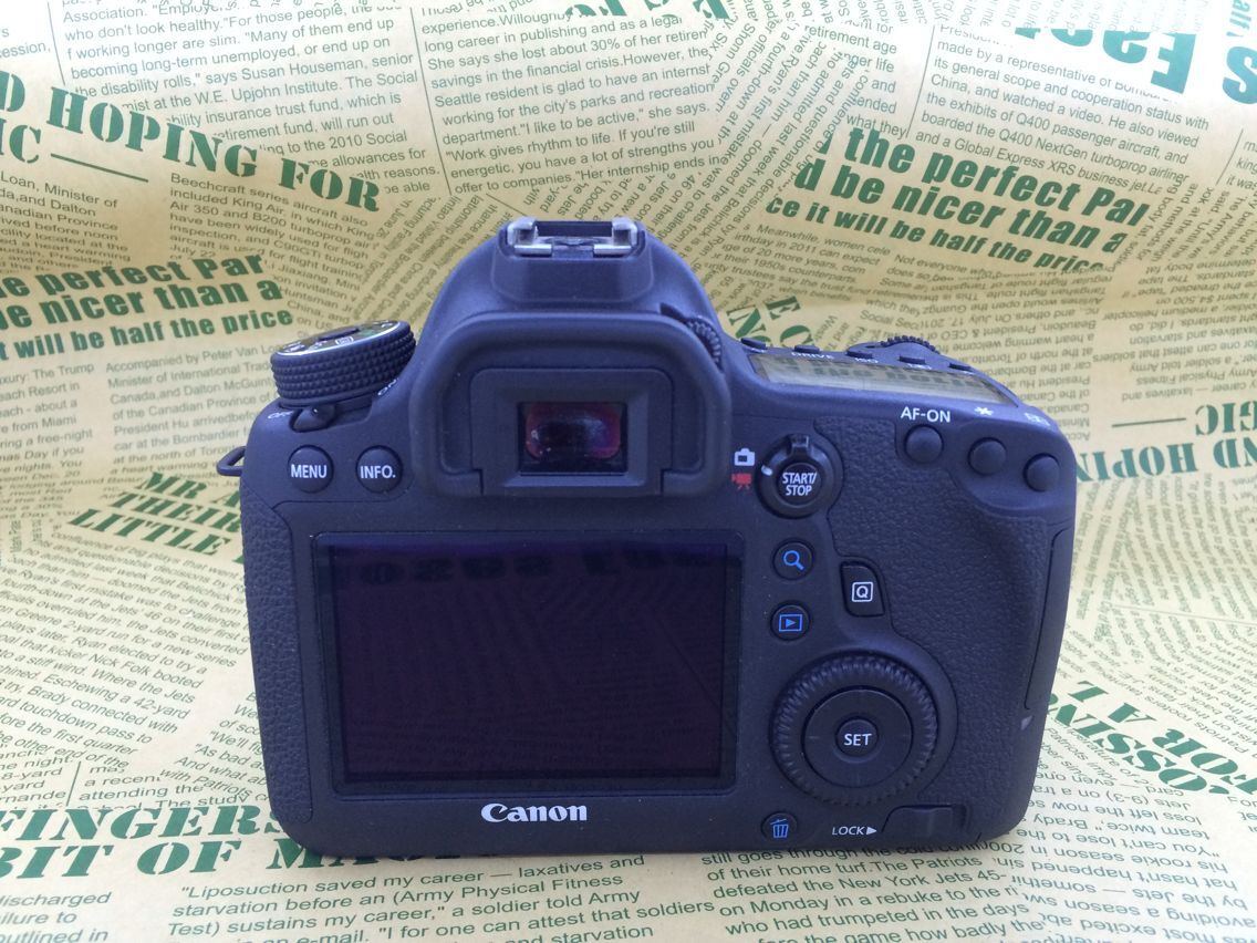 Canon EOS 6D body WiFi GPS full picture digital SLR used camera original genuine