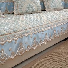 四季通用欧式沙发垫高档布艺防滑坐垫子贵妃全包万能沙发套罩全盖