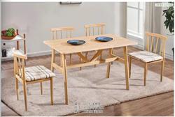 成都出租房仿实木铁艺牛角椅食堂餐厅面馆奶茶饭店快餐桌椅组合