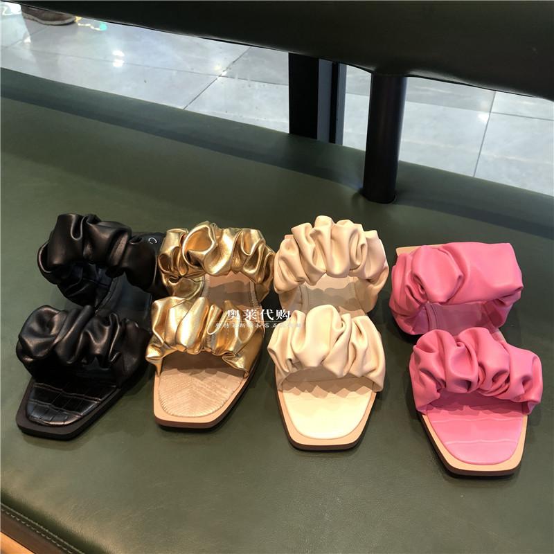 SAM EDELMAN奥特莱斯代购 2021年夏新款时尚休闲平底凉鞋女式拖鞋