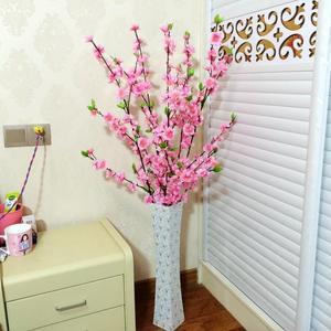 高枝櫻花客廳落地假花干枝花仿真桃花束梅花插花娟花玄關裝飾包郵