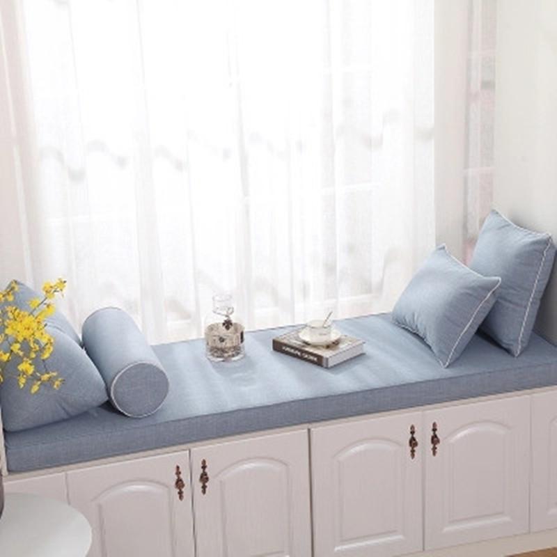 高密度海绵飘窗垫定做阳台垫子窗台垫榻榻米沙发垫卡座坐垫定制
